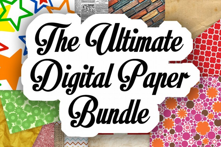 Ultimate Digital Scrapbook Paper Bundle