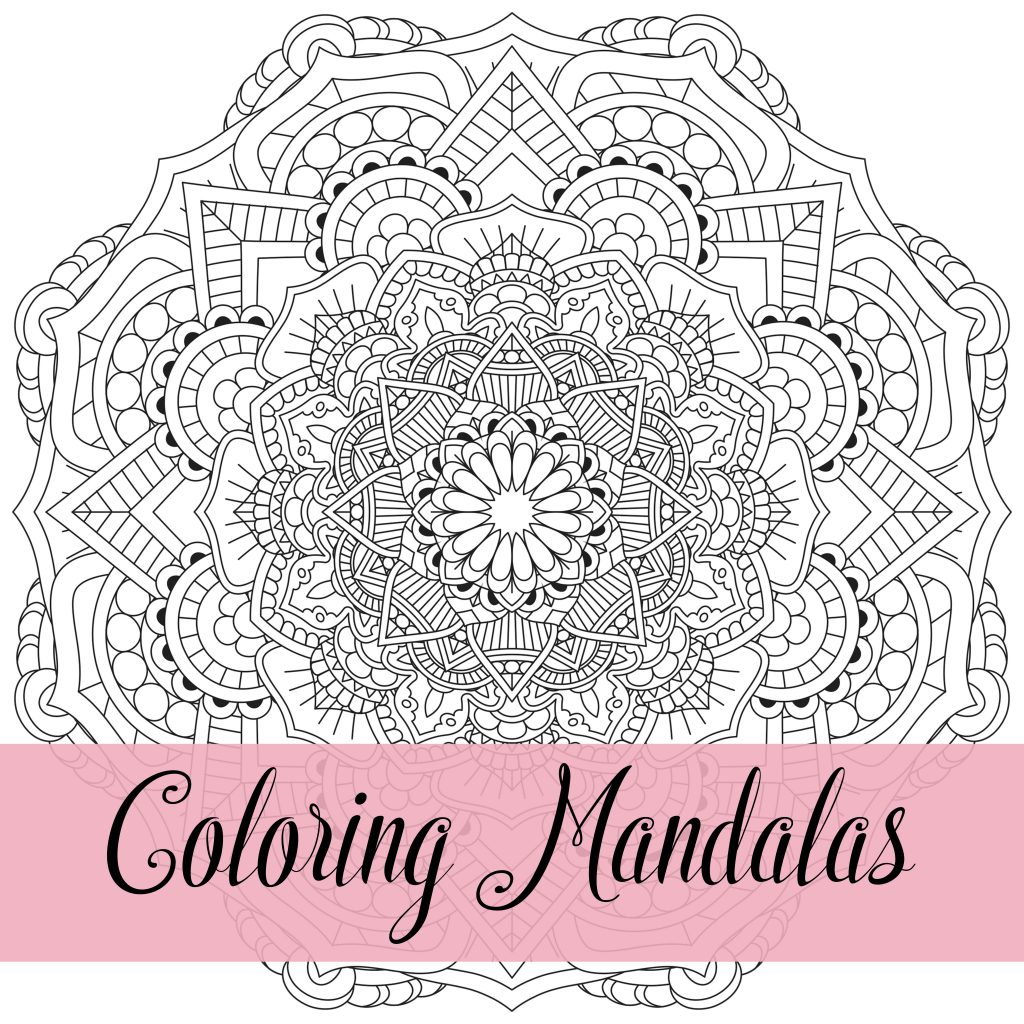 25+ Mandalas for Coloring and Designs