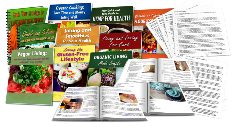 Food Content PLR Mega Pack